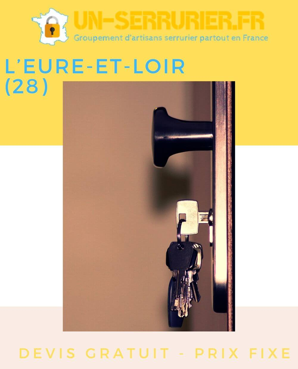 serruriers département de l'Eure-et-Loir (28)