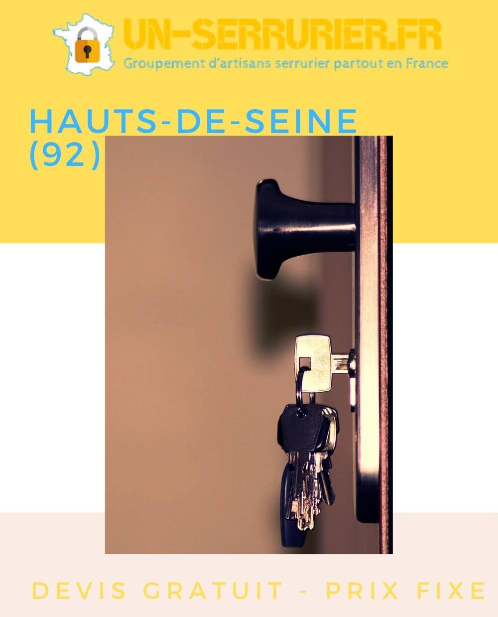 serruriers des Hauts-de-Seine (92)